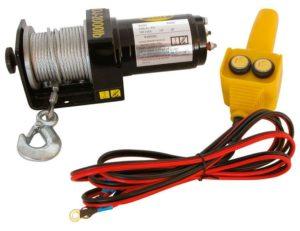 elektrische Seilwinde 12V Carpoint 1000 kg